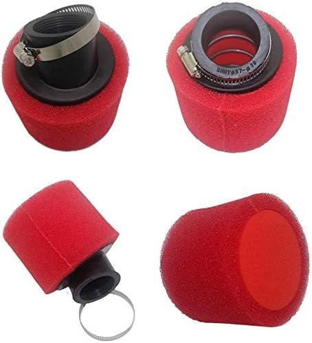 Red Hose /& Stainless Gold Banjos Pro Braking PBR4179-RED-GOL Rear Braided Brake Line