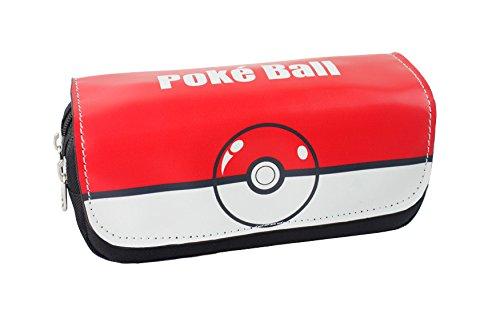 Estuches-Material-escolar-Portatodo-doble-Pokemon-Pokeball