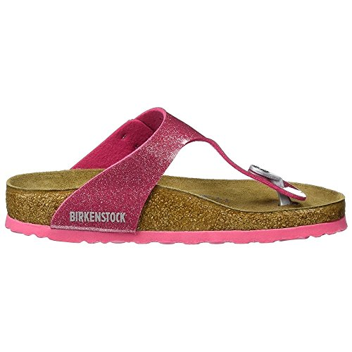 Price comparison product image Birkenstock Womens Gizeh Soft Footbed - Magic Galaxy Bright Rose 1003164 (Pink) Womens Sandals 41 EU