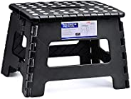 ACSTEP ACKO Folding Step Stool Lightweight Plastic Step Stool,9 inch Foldable Step Stool for Kids,Non Slip Fol