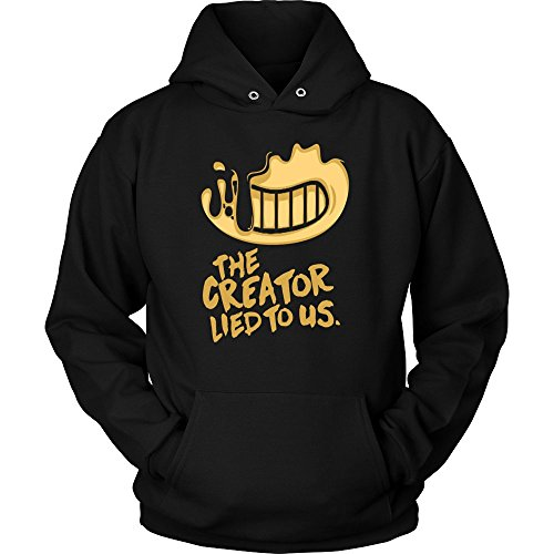 Bendy And The Ink Machine Hoodie The Creator Lied To Us