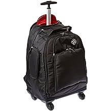 Samsonite Luggage Mvs Spinner Backpack, Black, 19-Inch
