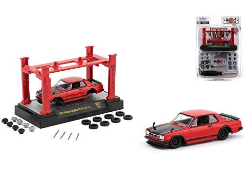 Model Kit 4 Piece Car Set Release 27 1/64 Diecast Model Cars by M2 Machines 37000-27