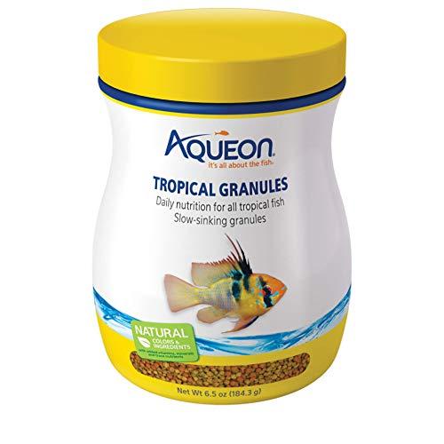 Tetramin Granules - Aqueon Tropical Granules Fish Food, 6-1/2-Ounce