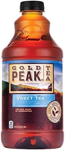 Gold Peak Sweet Tea Bottles, 64 fl oz
