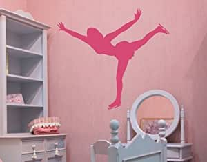 Style & Apply - Figure Skating - wall decal, sticker, mural vinyl art home decor