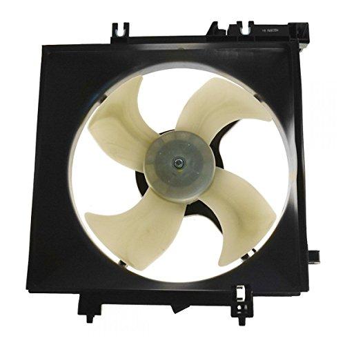 Radiator Cooling Fan Assembly Driver Side Left LH for 05-11 Outback Legacy 2.5L (Radiator Fan Side Motor Cooling)