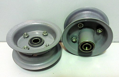 2-set-410350-4-Hand-Truck-Air-Tire-Rim-Offset-Split-rim-Hub-58-ID-Bearing
