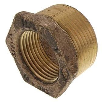 Lead Free 1 x 1//4 MIP x FIP Brass Bushing Pack of 10