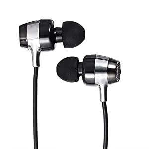 SOUL Electronics SH9BLK High-Def Sound Isolation In-Ear Headphones - Black - Discountinued by Manufacter