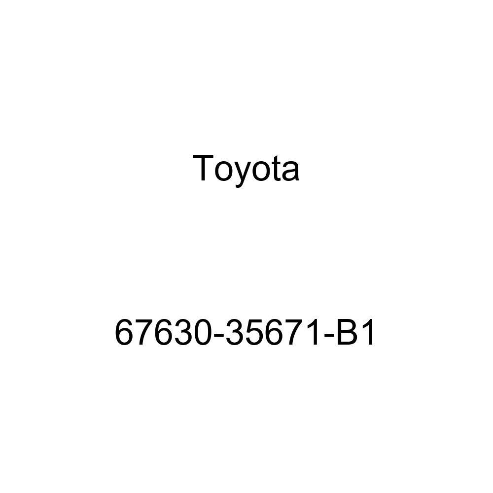 Genuine Toyota 67630-35671-B1 Door Trim Board