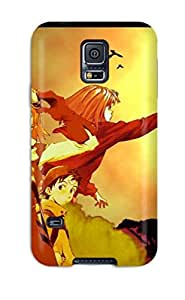 Galaxy S5 Case Cover - Slim Fit Tpu Protector Shock Absorbent Case (flcl)