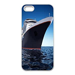 IPhone 5,5S Cases Cruises Set Sail, Cute Iphone 5s Cases for Teen Girls - [White] Okaycosama