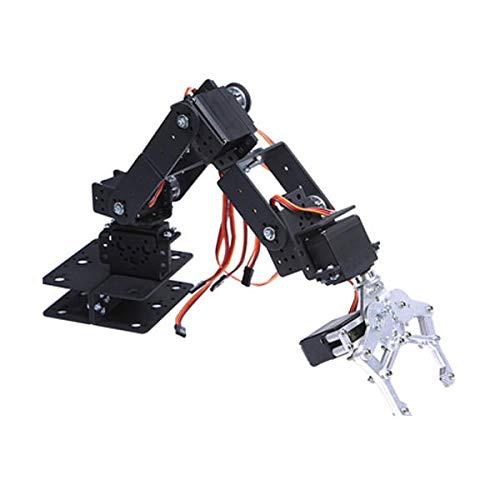 6 DOF 3D Rotating Mechanical Robot Arm Kit For Smart Car - Arduino Compatible SCM & DIY Kits Smart Robot & Solar Panel - (Bracket with Metal Helm + six DS3115 servos) - 1 x DIY 6 Digit LED Large by Unknown (Image #2)