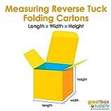 "Reverse Tuck Folding Cartons, 6"" x 4"" x"