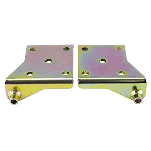 Leaf Spring Lower Right Shock Mounting Plate, 2.5 Inch Spring