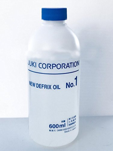 Juki Original Genuine Defrix Sewing Machine Oil (No.1) - 60ml Original Juki Oil (Japan Import) by Pattern + Sewing Tools 4Pro's