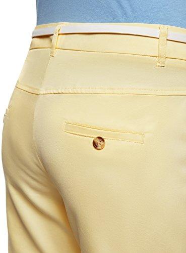 Donna Pantaloni oodji Giallo 5000n Leggeri Ultra Dritti r55SEx
