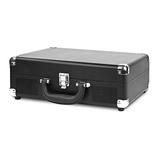 technology nostalgic vintage suitcase turntable