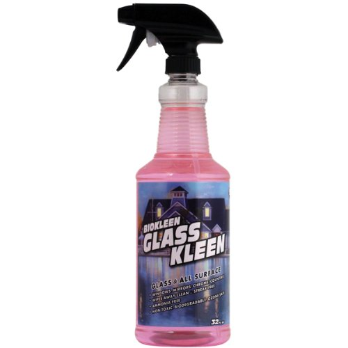 Biokleen M01307 32 Oz. Glass and Surface Cleaner