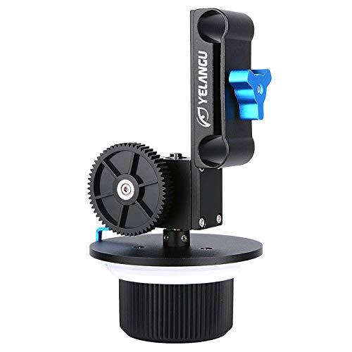 Aluminum Alloy Adjustable Precise Focusing Follow Focus Fit 15Mm Rod Rig 52Mm-86Mm Lens for 5D2/7D/70D/700D/A7R/Gh4 by PartsStorm