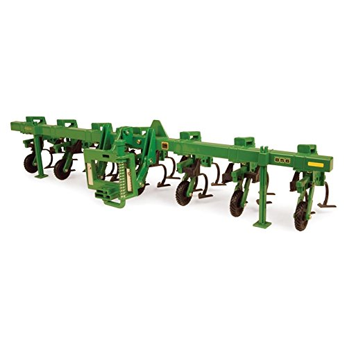 Ertl John Deere Toll Bar Cultivator, 1:16 Scale (Scale Red 64th)