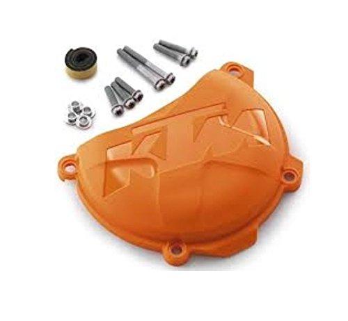 NEW KTM CLUTCH COVER PROTECTION ORANGE 250 350 XC-F SX-F XCF-W 7753099400004