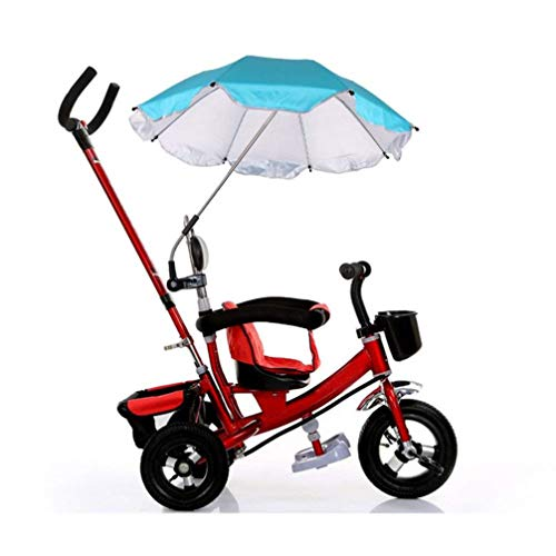 Baby Stroller Umbrella,Sunbona Baby Stroller Cover Parasol with Universal Clamp for Sun Rain Protection UV Rays Outdoor Umbrella (Blue) by Sunbona