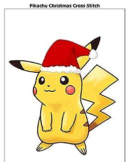 Christmas Pikachu.Amazon Com Pikachu Christmas Cross Stitch Ebook Bpra