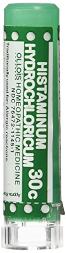 Ollois Lactose Free 30C Pellets Homeopathic Medicines  Histaminum Hydrochloricum  80 Count