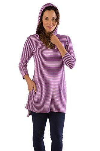 dht516-small-orchid-natural-stripe-bamboodreams-dani-hooded-tunic