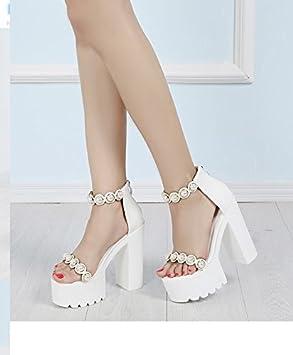 XiaoGao 15 centimètres de talon orné des perles - stade
