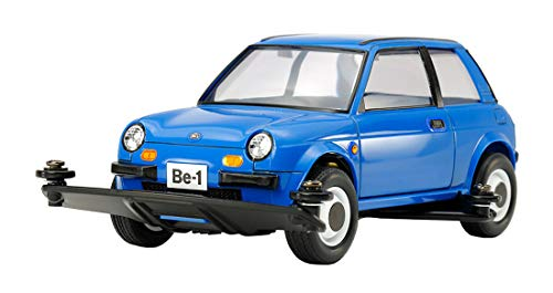 (Tamiya 95477 Nissan Be-1 (Blue Version) Type 3 Chassis 1/32 Scale Mini 4WD Series Special Edition)