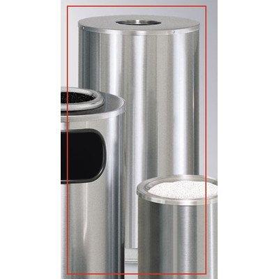 15-Gal European & Metallic Series Drop-In Top Receptacle [Set of 4] Color: Satin Stainless Steel ()