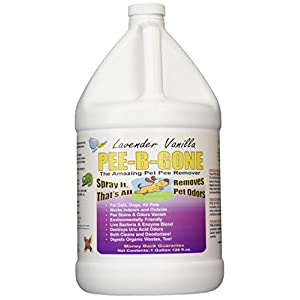 Pet Pee Be Gone Lavender Vanilla Gallon 2