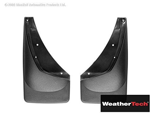 MudFlap No-Drill DigitalFit Black - Fits GMC Sierra 3500 Without Factory Flares - 2001 2002 2003 2004 2005 2006 | 01 02 03 04 05 06 (WEA-KEQ-339) Front Pair Only