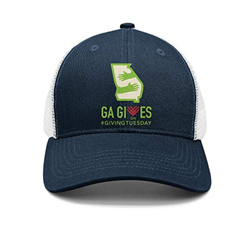 srygjukuu Unisex Giveing Tuesday Georgia Gives Cap Cool Trucker - Couture Hat Trucker