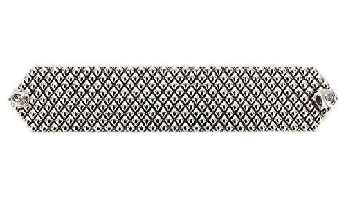 Bracelet Argent Antique b8-as SG Métal liquide par Sergio Gutierrez-3tailles-SG Étui & Chiffon de nettoyage inclus.