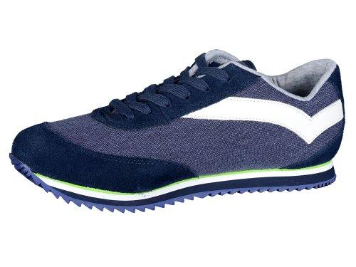 Gas , Chaussures de ville à lacets pour homme Bleu Bleu 40