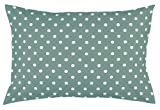 Toddler Pillowcase by Dreamtown Kids. 100% Cotton. SAGE Green