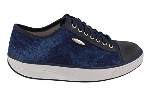 MBT Women's Jambo (LE) Athletic Walking Shoe (37, Denim Blue/Stone Washed Navy) (Discontinued Shoes compare prices)
