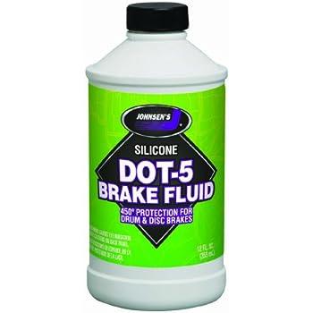 Johnsen's 7012-6 Silicone DOT-5 Brake Fluid - 12 oz.