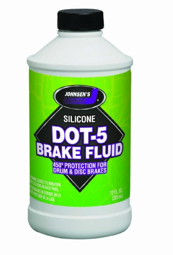 Silicone Dot (Johnsen's 7012-6 Silicone DOT-5 Brake Fluid - 12 oz.)
