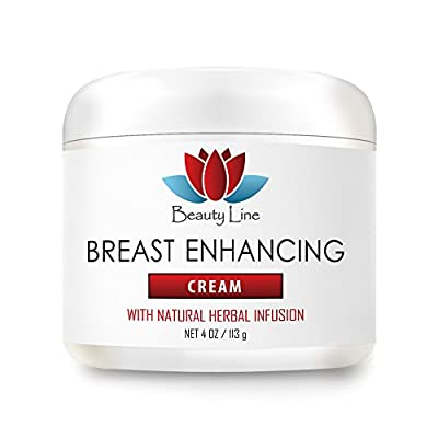 Skin supplements for women - Breast Enhancing Cream With Natural Herbal Infusion - Mammary care - 1 Jar