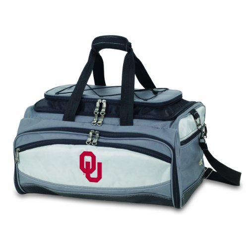 Buccaneer Digital Print Tote (NCAA Oklahoma Sooners Buccaneer Tailgating Cooler with Grill)