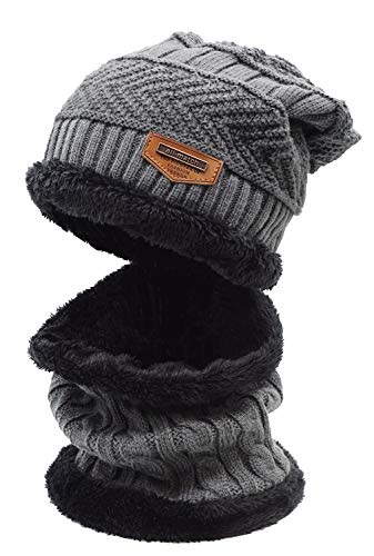 The 10 best warm knitted hat and circle scarf