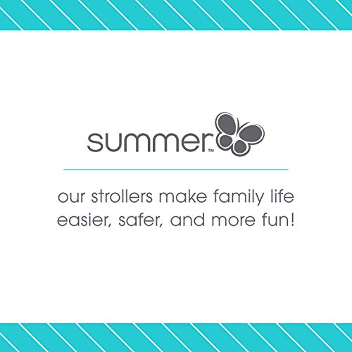41MU6aFgcsL - Summer Infant 3D Mini Convenience Stroller, Gray