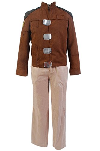 [mingL Battlestar Galactica Cosplay Costume Colonial Warrior Uniform Outfit Jacket Suit] (Galactica Costumes)