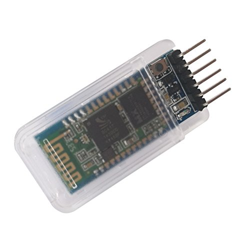 - DSD TECH HC-05 Bluetooth Serial Pass-through Module Wireless Serial Communication with Button for Arduino