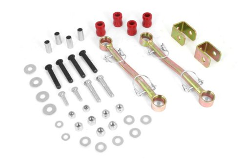 Rugged Ridge 18320.01 Front Sway Bar End Links, 4 Inch Lift, 97-06 Jeep Wrangler TJ B00B7R5Z8M